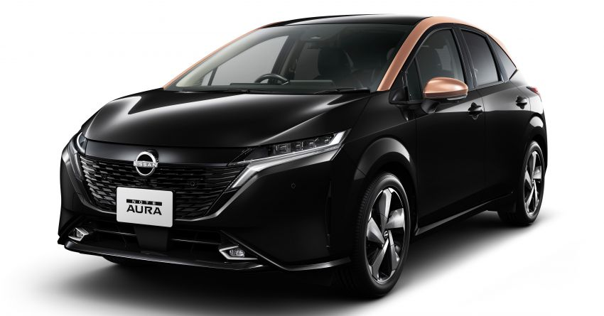 2022 Nissan Note Aura launched in Japan – design tweaks, premium kit, AWD and FWD e-Power setups Image #1307581