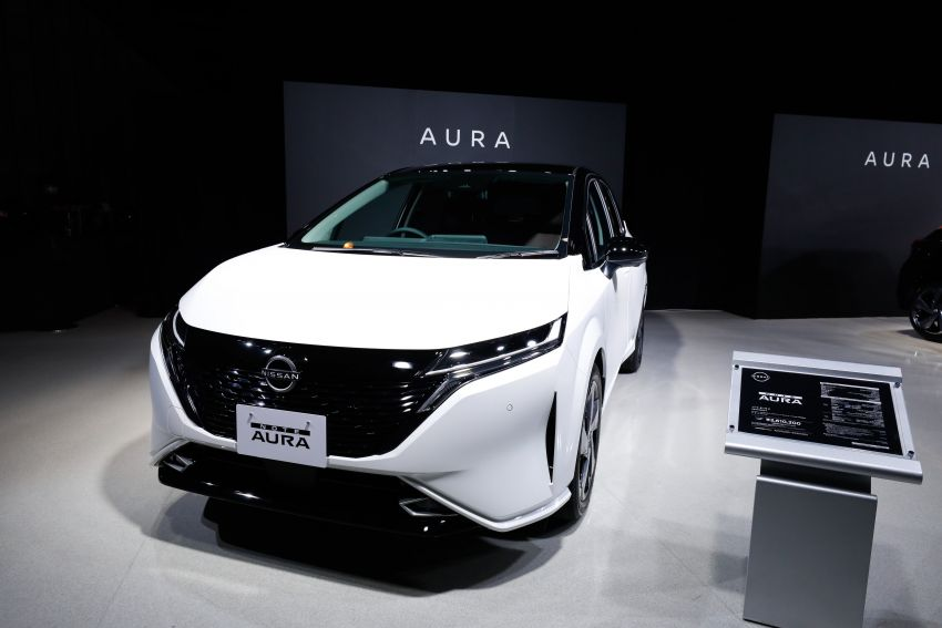 2022 Nissan Note Aura launched in Japan – design tweaks, premium kit, AWD and FWD e-Power setups Image #1307609