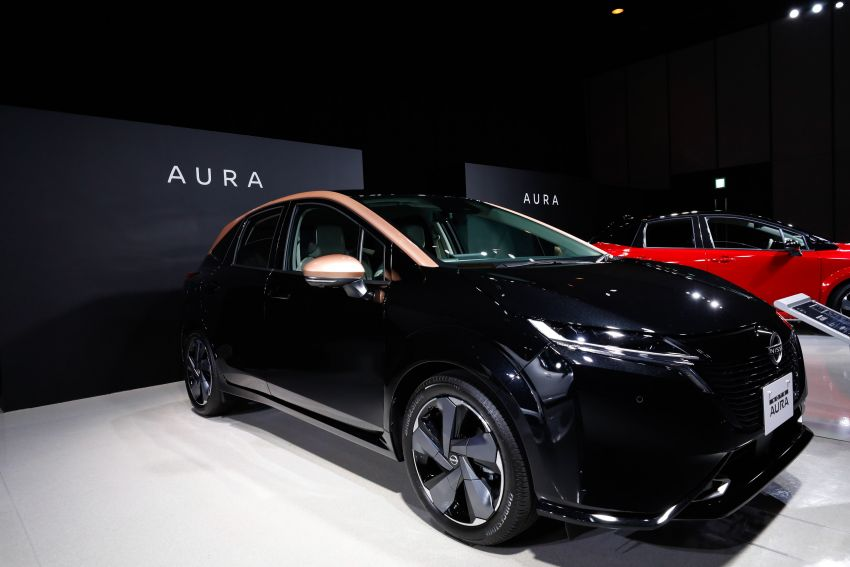 2022 Nissan Note Aura launched in Japan – design tweaks, premium kit, AWD and FWD e-Power setups Image #1307610