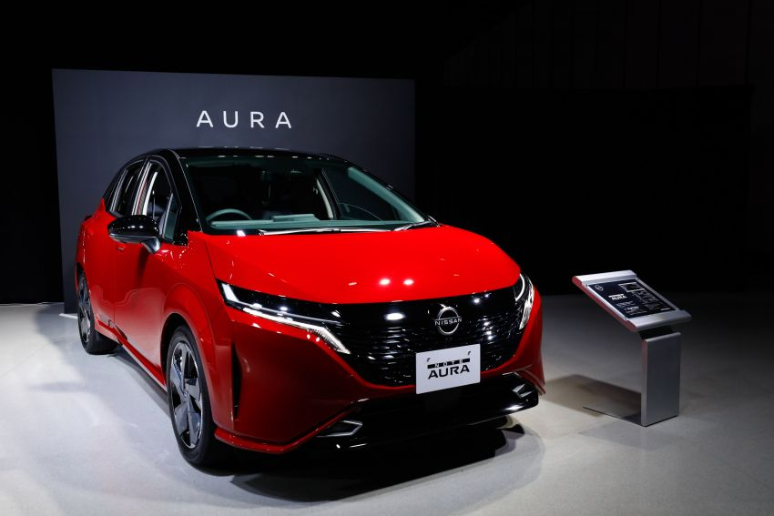 2022 Nissan Note Aura launched in Japan – design tweaks, premium kit, AWD and FWD e-Power setups Image #1307611