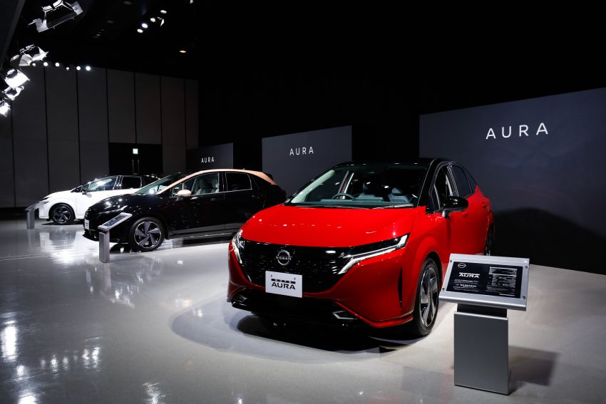 2022 Nissan Note Aura launched in Japan – design tweaks, premium kit, AWD and FWD e-Power setups Image #1307612
