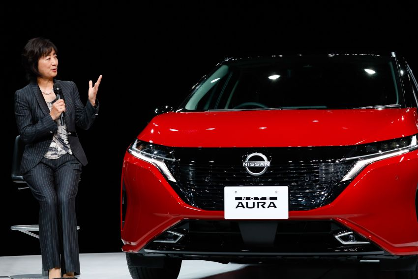2022 Nissan Note Aura launched in Japan – design tweaks, premium kit, AWD and FWD e-Power setups Image #1307618