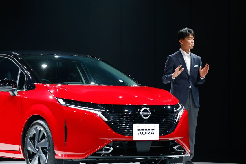 2022 Nissan Note Aura launched in Japan – design tweaks, premium kit, AWD and FWD e-Power setups Image #1307621