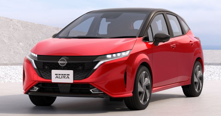 2022 Nissan Note Aura launched in Japan – design tweaks, premium kit, AWD and FWD e-Power setups Image #1307623
