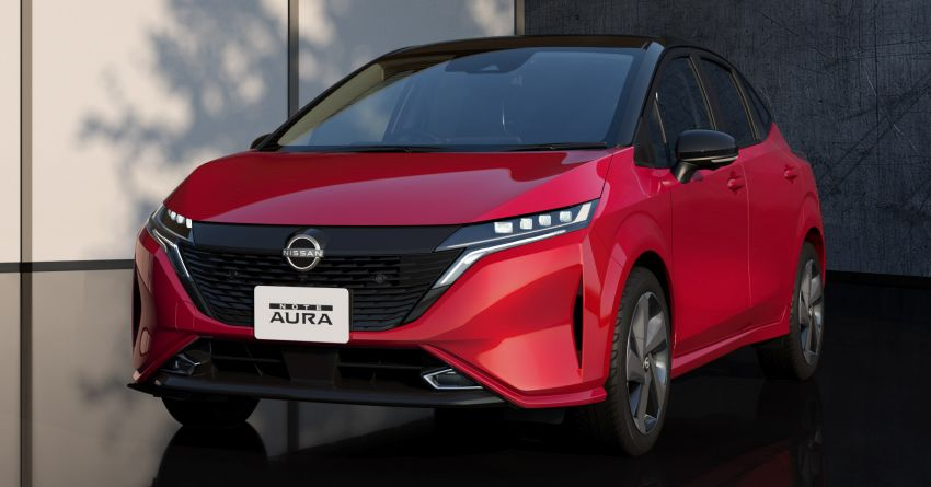2022 Nissan Note Aura launched in Japan – design tweaks, premium kit, AWD and FWD e-Power setups Image #1307630