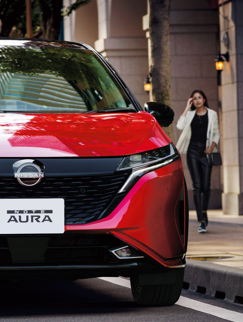2022 Nissan Note Aura launched in Japan – design tweaks, premium kit, AWD and FWD e-Power setups Image #1307588