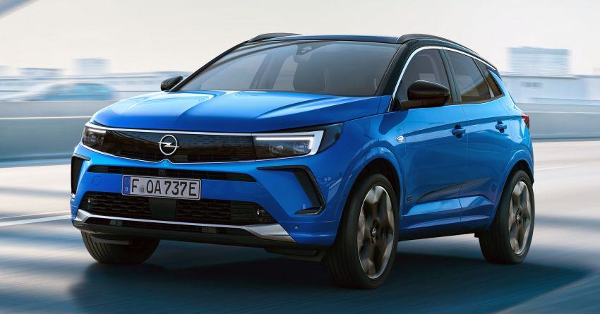 2022 Opel/Vauxhall Grandland facelift makes its debut Image #1305806