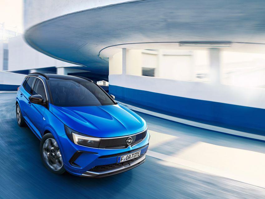 2022 Opel/Vauxhall Grandland facelift makes its debut Image #1305808