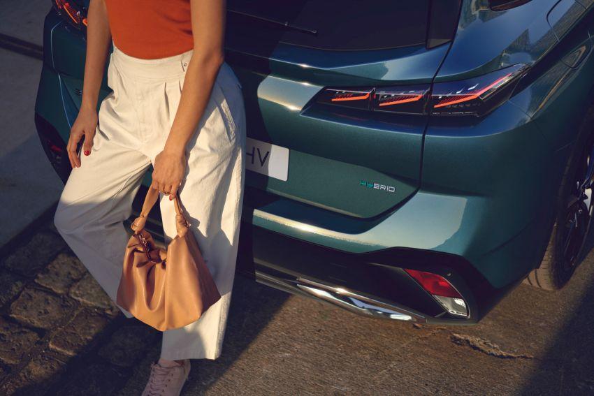 2022 Peugeot 308 SW debuts – longer wheelbase, 608 litres of boot space; 1.6L PHEV, up to 60 km e-range Image #1310289