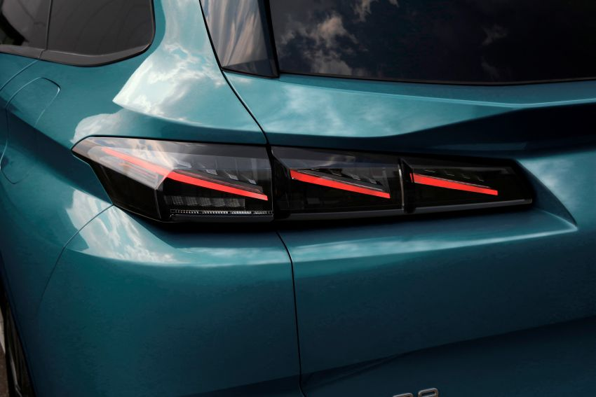 2022 Peugeot 308 SW debuts – longer wheelbase, 608 litres of boot space; 1.6L PHEV, up to 60 km e-range Image #1310293