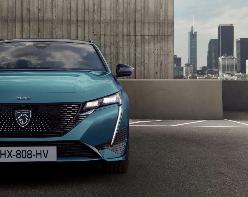 2022 Peugeot 308 SW debuts – longer wheelbase, 608 litres of boot space; 1.6L PHEV, up to 60 km e-range Image #1310296