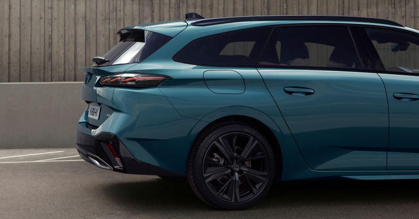 2022 Peugeot 308 SW debuts – longer wheelbase, 608 litres of boot space; 1.6L PHEV, up to 60 km e-range Image #1310298