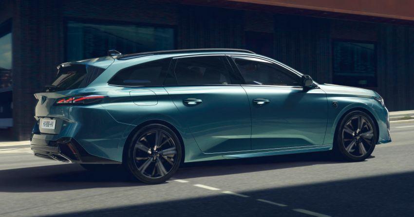 2022 Peugeot 308 SW debuts – longer wheelbase, 608 litres of boot space; 1.6L PHEV, up to 60 km e-range Image #1310299