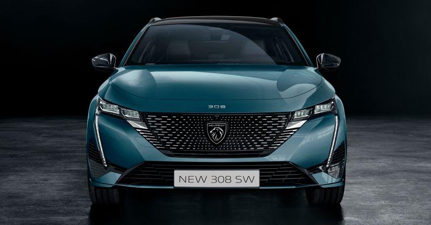 2022 Peugeot 308 SW debuts – longer wheelbase, 608 litres of boot space; 1.6L PHEV, up to 60 km e-range Image #1310279