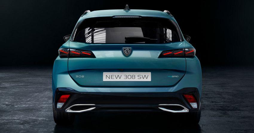 2022 Peugeot 308 SW debuts – longer wheelbase, 608 litres of boot space; 1.6L PHEV, up to 60 km e-range Image #1310280