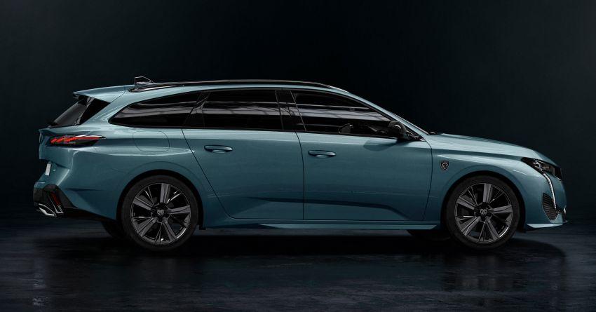 2022 Peugeot 308 SW debuts – longer wheelbase, 608 litres of boot space; 1.6L PHEV, up to 60 km e-range Image #1310281