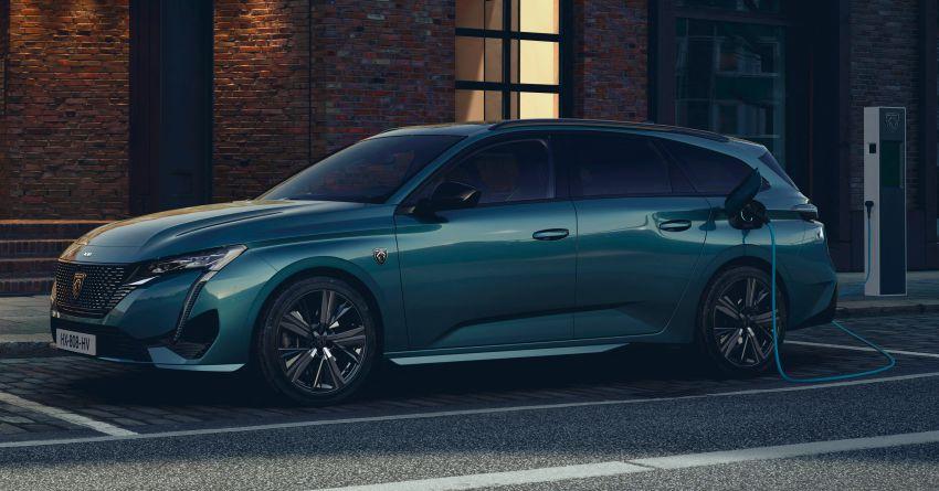2022 Peugeot 308 SW debuts – longer wheelbase, 608 litres of boot space; 1.6L PHEV, up to 60 km e-range Image #1310282