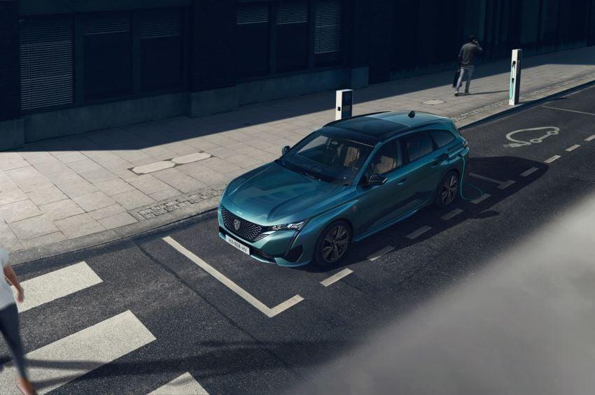 2022 Peugeot 308 SW debuts – longer wheelbase, 608 litres of boot space; 1.6L PHEV, up to 60 km e-range Image #1310284