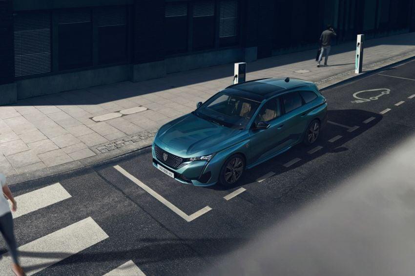 2022 Peugeot 308 SW debuts – longer wheelbase, 608 litres of boot space; 1.6L PHEV, up to 60 km e-range Image #1310285