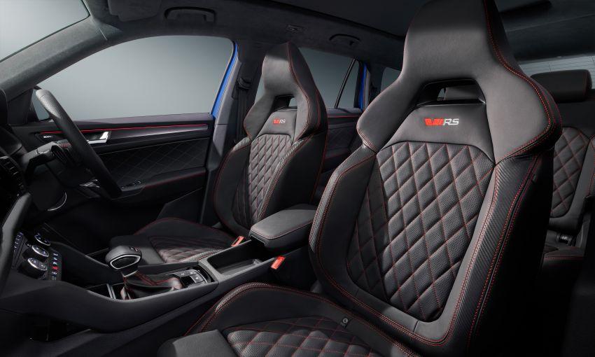Skoda Kodiaq facelift 2022 – varian vRS dapat enjin 2.0 TSI 245 PS, DSG tujuh kelajuan  sama seperti Golf GTI Image #1313802