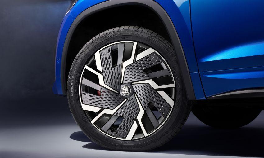 Skoda Kodiaq facelift 2022 – varian vRS dapat enjin 2.0 TSI 245 PS, DSG tujuh kelajuan  sama seperti Golf GTI Image #1313808