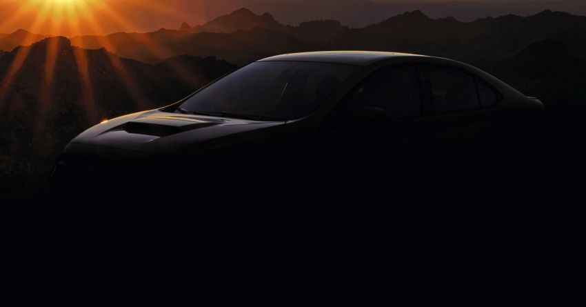 2022 Subaru WRX gets teased ahead of debut this year Image #1313382