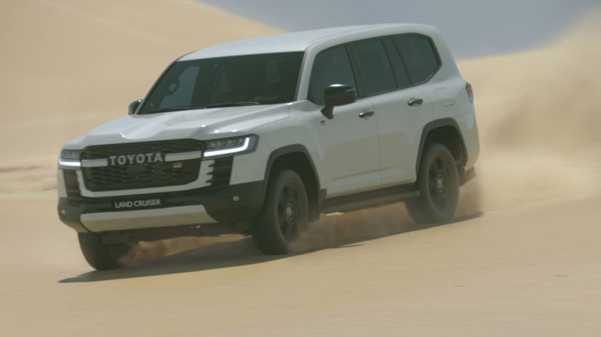 2022 Toyota Land Cruiser 300 Series – new GA-F platform saves 200 kg, V8 dropped for turbo V6 Image #1305303