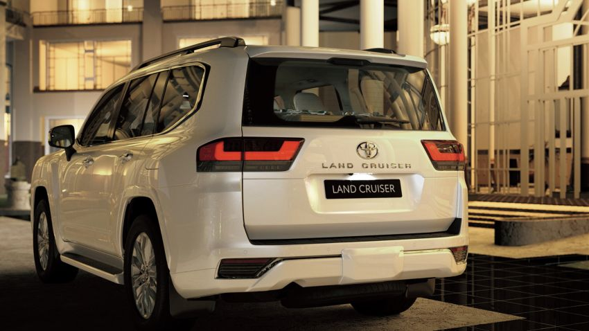 2022 Toyota Land Cruiser 300 Series – new GA-F platform saves 200 kg, V8 dropped for turbo V6 Image #1305304