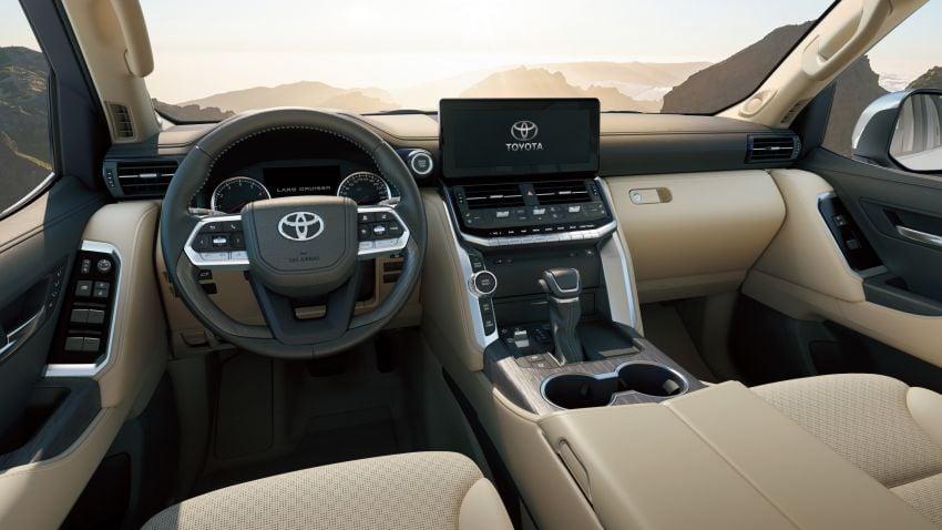 2022 Toyota Land Cruiser 300 Series – new GA-F platform saves 200 kg, V8 dropped for turbo V6 Image #1305307
