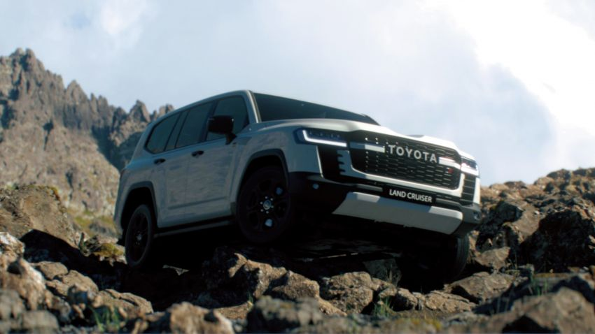 2022 Toyota Land Cruiser 300 Series – new GA-F platform saves 200 kg, V8 dropped for turbo V6 Image #1305310