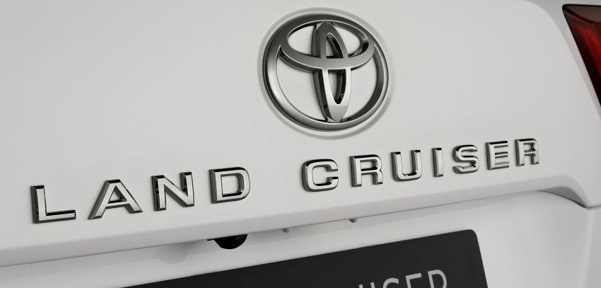 2022 Toyota Land Cruiser 300 Series – new GA-F platform saves 200 kg, V8 dropped for turbo V6 Image #1305467