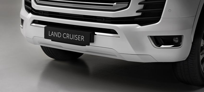 2022 Toyota Land Cruiser 300 Series – new GA-F platform saves 200 kg, V8 dropped for turbo V6 Image #1305468