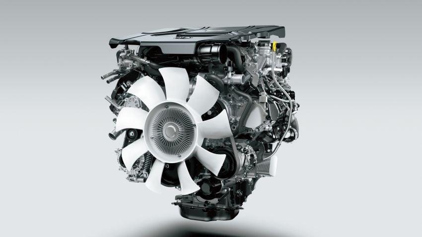 2022 Toyota Land Cruiser 300 Series – new GA-F platform saves 200 kg, V8 dropped for turbo V6 Image #1305314