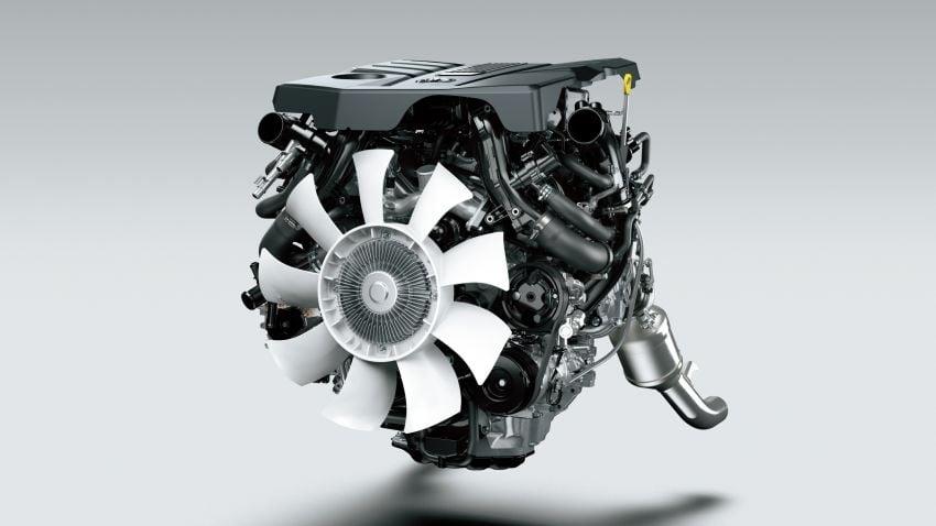2022 Toyota Land Cruiser 300 Series – new GA-F platform saves 200 kg, V8 dropped for turbo V6 Image #1305315