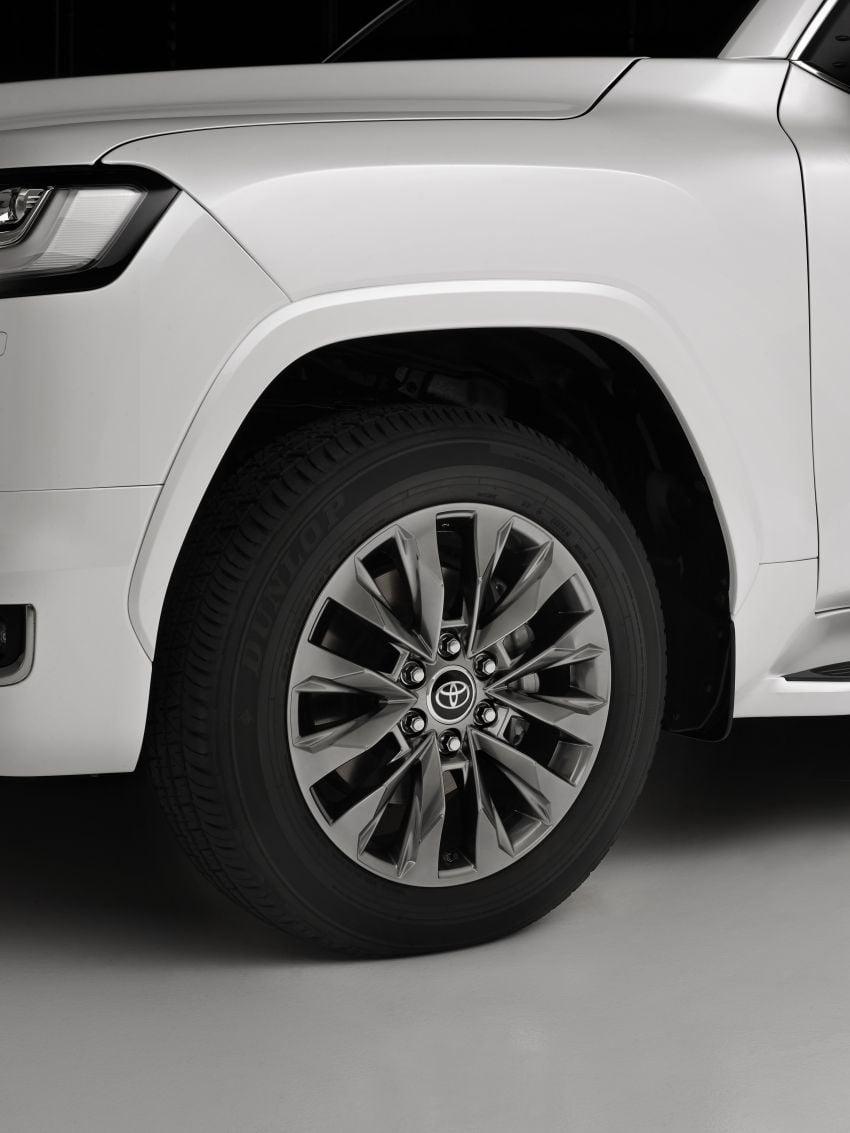 2022 Toyota Land Cruiser 300 Series – new GA-F platform saves 200 kg, V8 dropped for turbo V6 Image #1305471