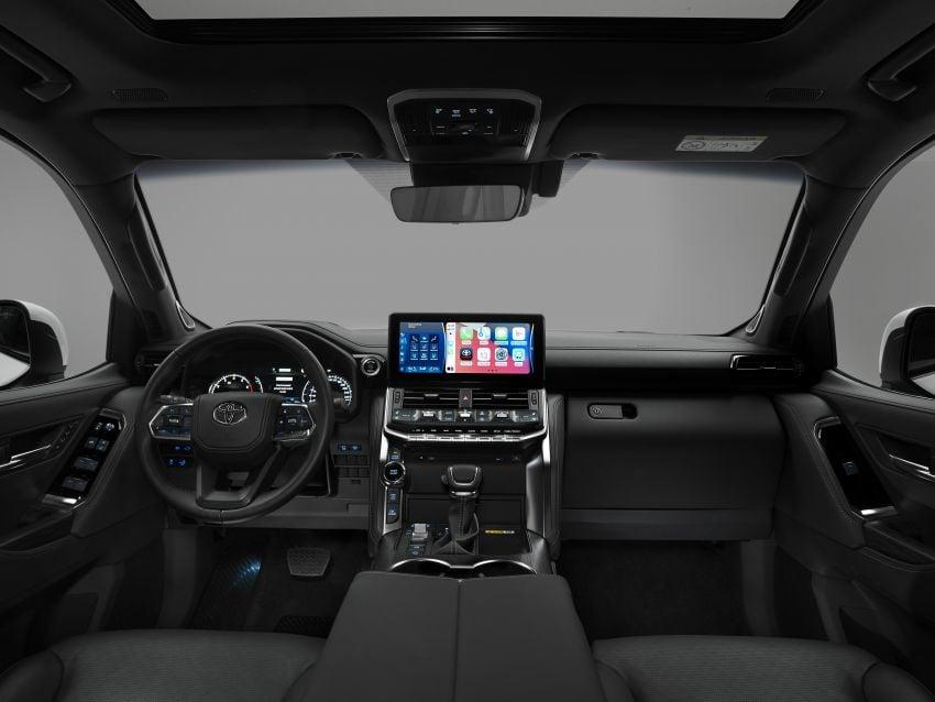 2022 Toyota Land Cruiser 300 Series – new GA-F platform saves 200 kg, V8 dropped for turbo V6 Image #1305475