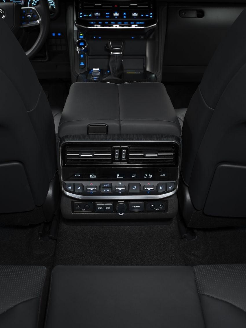 2022 Toyota Land Cruiser 300 Series – new GA-F platform saves 200 kg, V8 dropped for turbo V6 Image #1305477