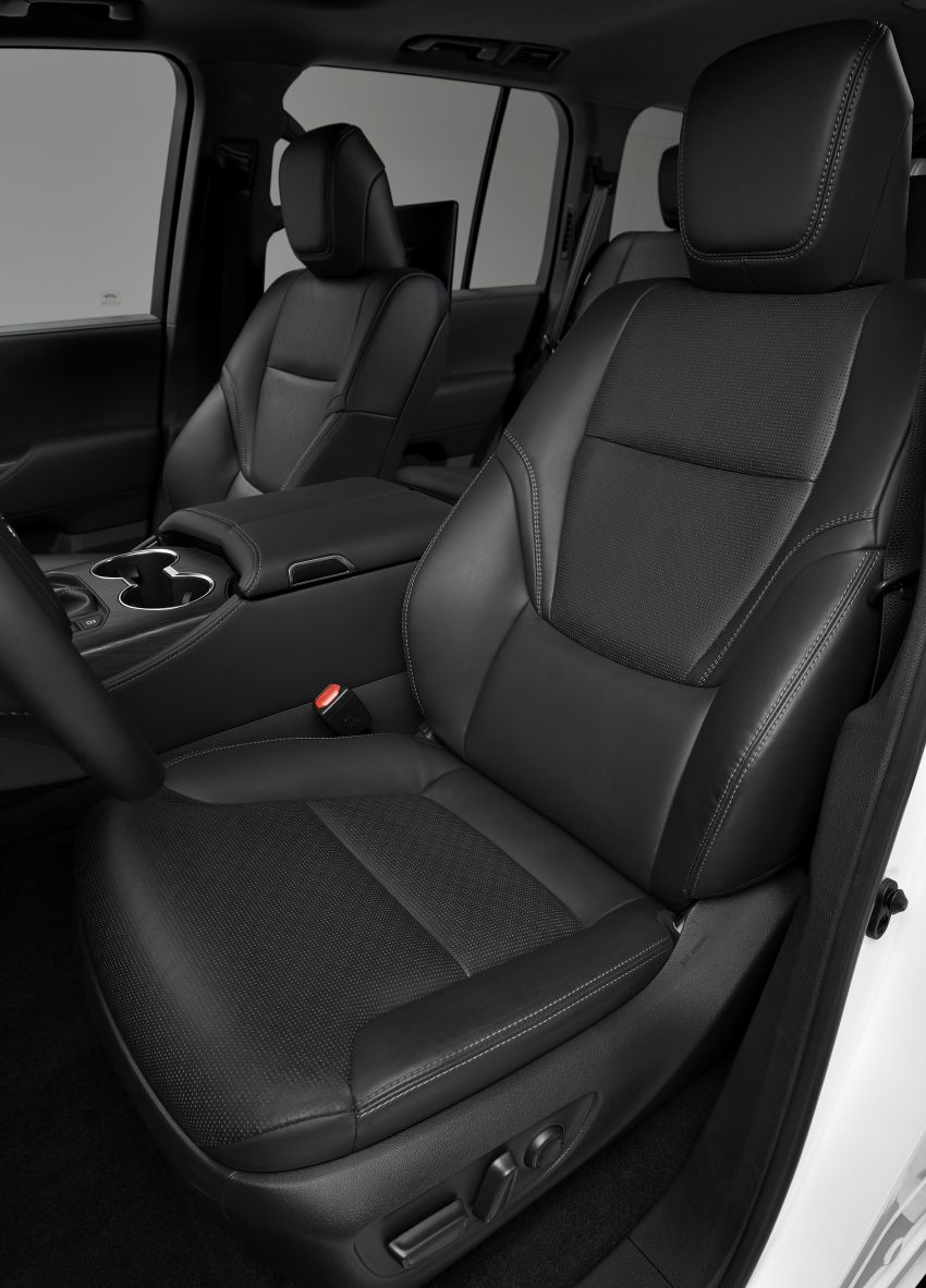 2022 Toyota Land Cruiser 300 Series – new GA-F platform saves 200 kg, V8 dropped for turbo V6 Image #1305479