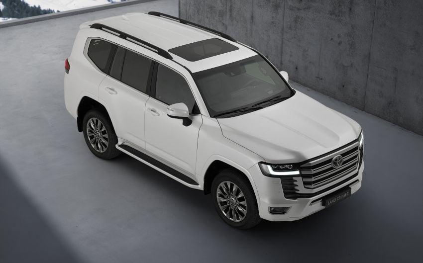 2022 Toyota Land Cruiser 300 Series – new GA-F platform saves 200 kg, V8 dropped for turbo V6 Image #1305463