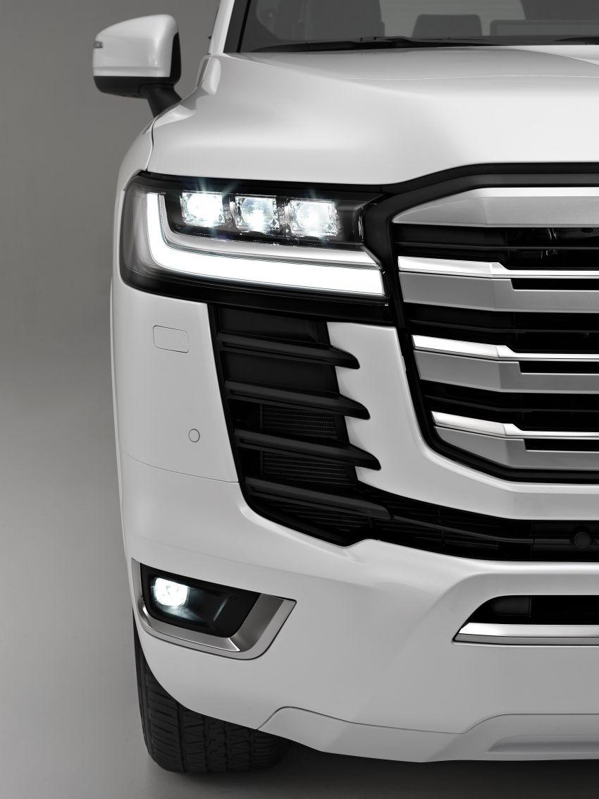 2022 Toyota Land Cruiser 300 Series – new GA-F platform saves 200 kg, V8 dropped for turbo V6 Image #1305464