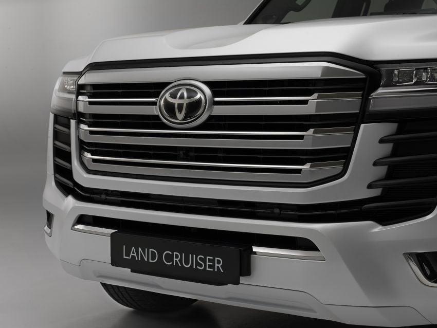 2022 Toyota Land Cruiser 300 Series – new GA-F platform saves 200 kg, V8 dropped for turbo V6 Image #1305465
