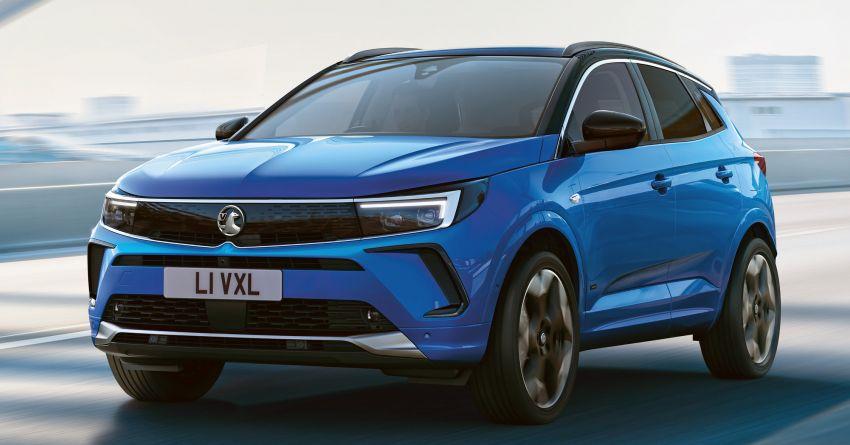 2022 Opel/Vauxhall Grandland facelift makes its debut Image #1305827