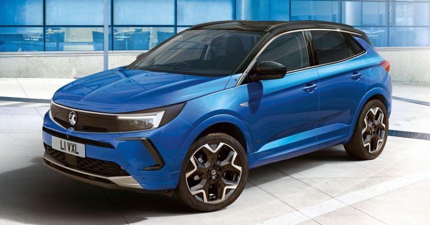 2022 Opel/Vauxhall Grandland facelift makes its debut Image #1305830