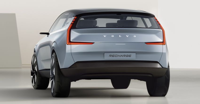2022 Volvo Concept Recharge debuts – first glimpse into a new electric era, no more alphanumerical names Image #1313892