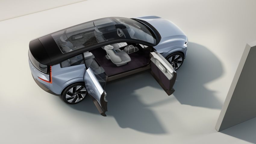 2022 Volvo Concept Recharge debuts – first glimpse into a new electric era, no more alphanumerical names Image #1313895