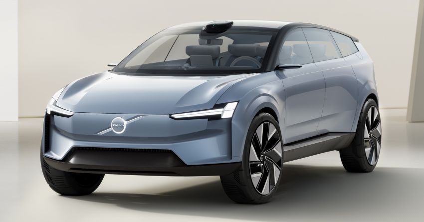 2022 Volvo Concept Recharge debuts – first glimpse into a new electric era, no more alphanumerical names Image #1313898