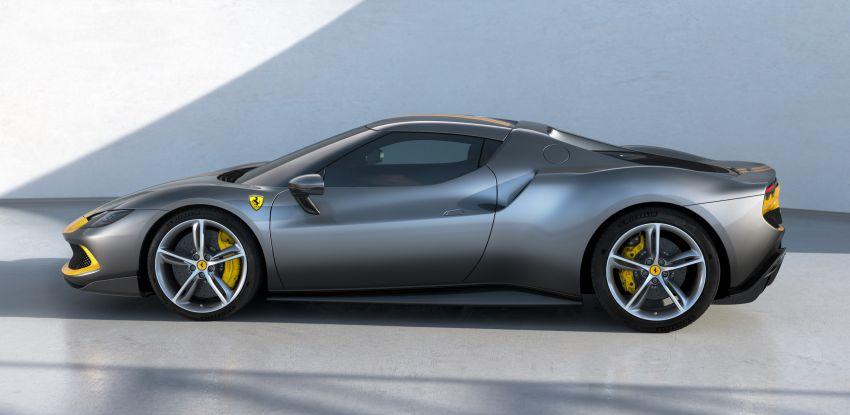 Ferrari 296 GTB debuts – 830 PS and 740 Nm V6 hybrid Image #1311945