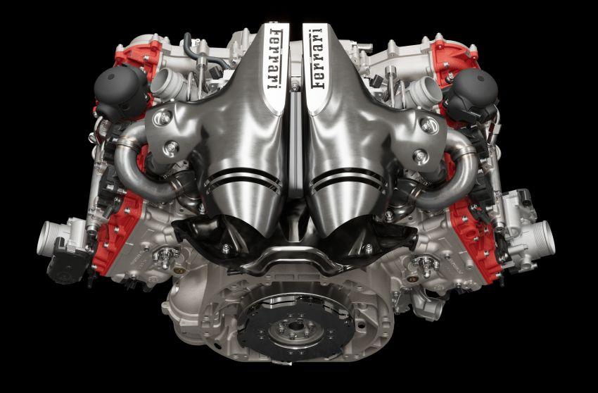 Ferrari 296 GTB debuts – 830 PS and 740 Nm V6 hybrid Image #1311948