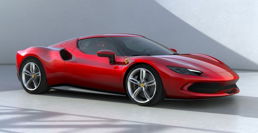 Ferrari 296 GTB debuts – 830 PS and 740 Nm V6 hybrid Image #1311953