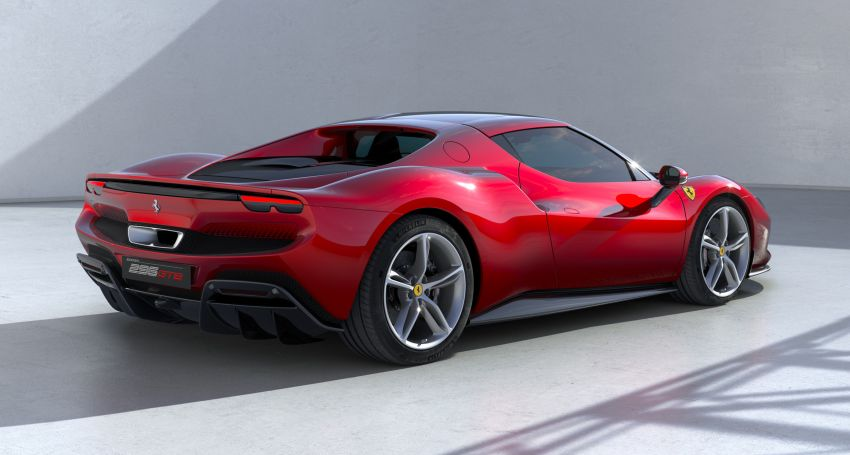 Ferrari 296 GTB debuts – 830 PS and 740 Nm V6 hybrid Image #1311954